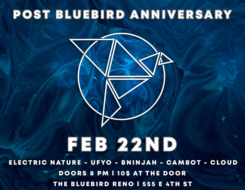 The Bluebird Reno - Bluebird [post] Anniversary 2-22