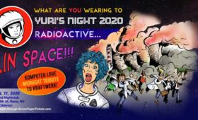 The Bluebird Reno - Yuris Night Radioactive in space April 11
